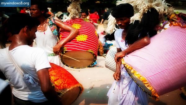 Durga Puja Theme for Windows 8