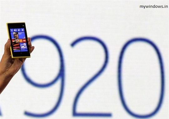 Nokia Lumia 920 features