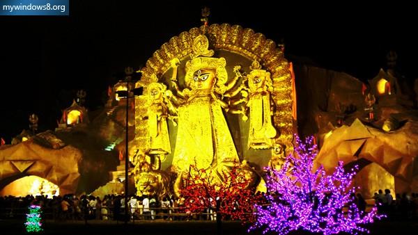 Durga Puja Windows 7 Theme