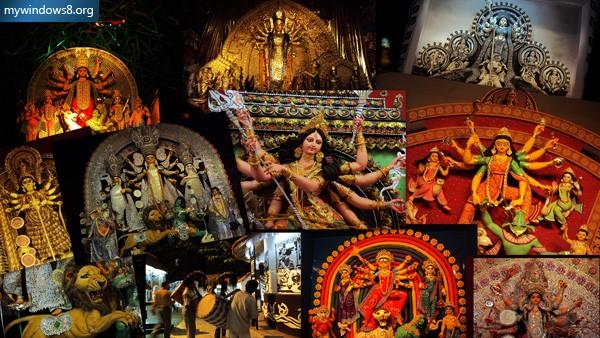 Durga Puja Theme Pack For Windows 7 Windows 8 Windows 81