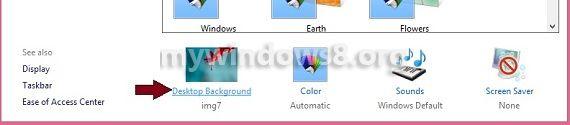 Click Desktop Background