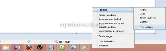 New Toolbar