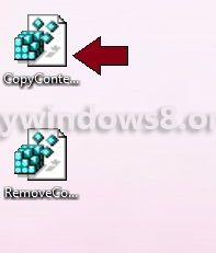 Install CopyContentsToClipboardTXT.reg