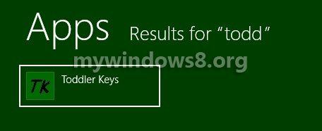 Search Toddler Keys