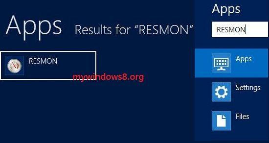 Open Resource Monitor