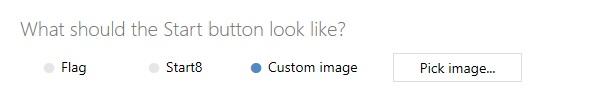 Customize Start Icon