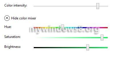 Set color mixer