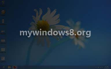dark screen problem in Windows 8