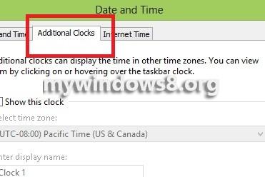 Additional Clocks