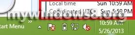Additional clocks windows 8