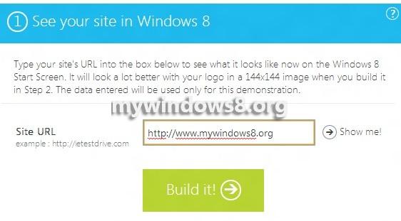Build URL