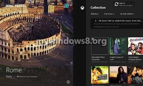 Split Screen Mode Windows 8.1