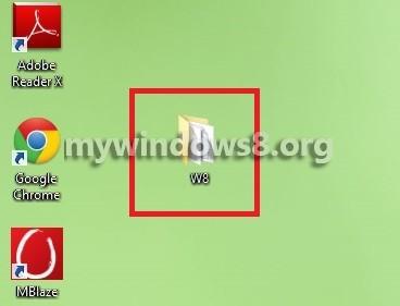 W8 Folder