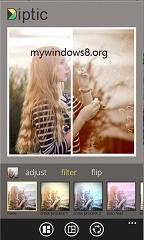 Diptic Photo Editor now in Windows Phone 8