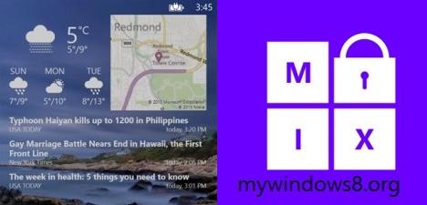 LockMix- impressively customizing Windows Phone 8 Lock Screen