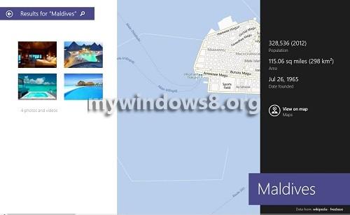 Search Screen 1