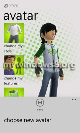 save xbox avatar