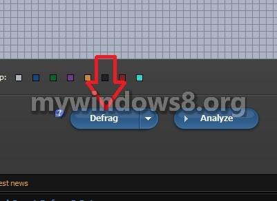 Quickly Defrag Windows 8.1