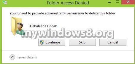 Folderaccessdenied