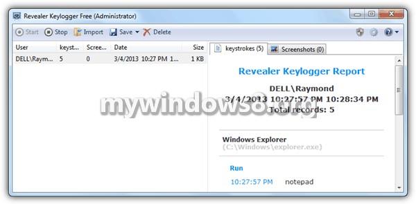 Revealer Key-Logger