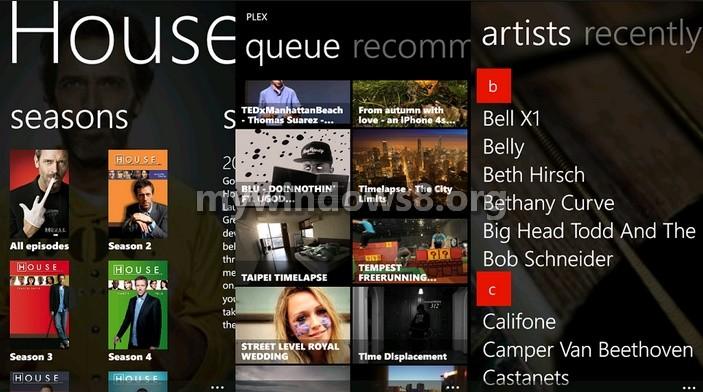 Plex update for Windows Phone adds camera upload feature