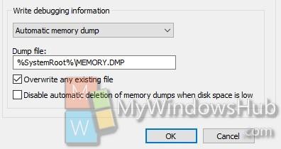 BSOD memory dump