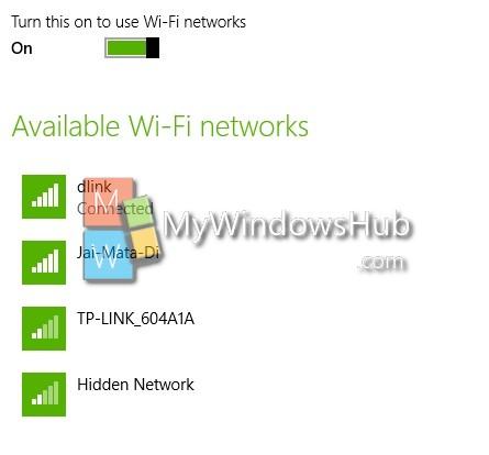 Add or remove wireless network