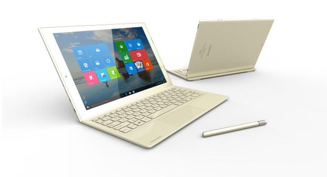 Microsoft announces Toshiba dynaPad- a stylish Windows 10 tablet