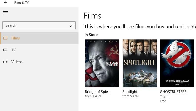 Load external subtitles in Films & TV app of Windows 10