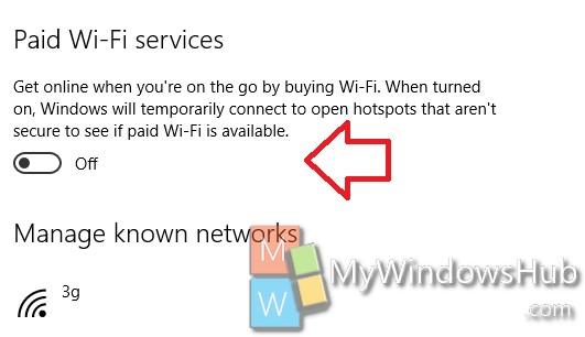 Paid Wi-Fi