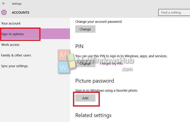 pic password add