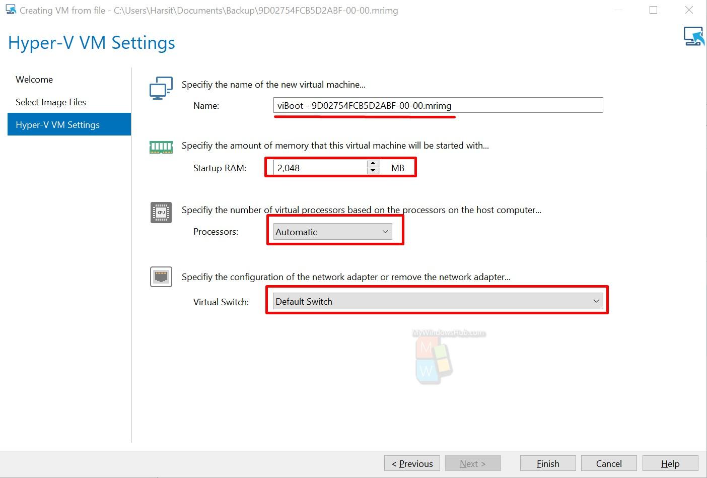 How To Create Virtual Machine On Windows 10 Using Macrium Image