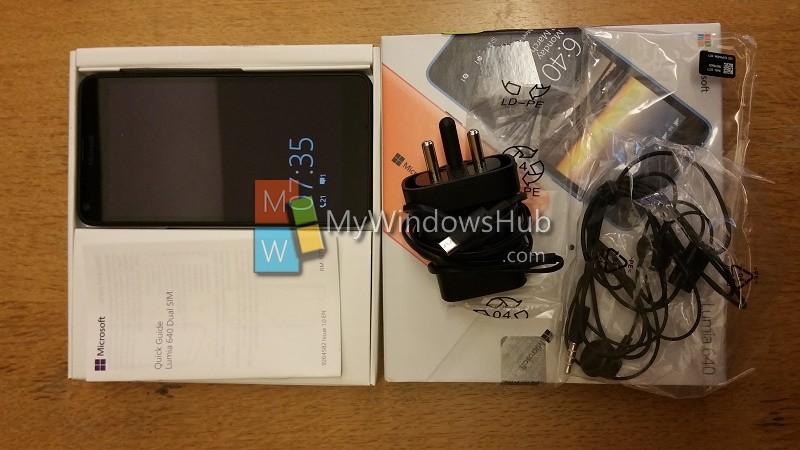 Unboxing Lumia 640