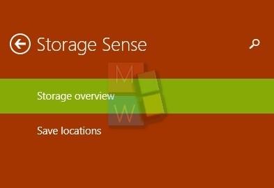Storage Sense Build 9879