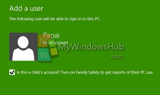 Child Account
