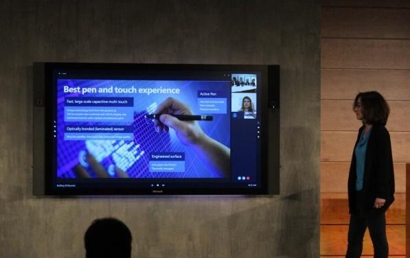 Microsoft announces Surface Hub, a Windows 10 powered 84 inch device